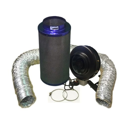 "Viper Carbon Filter 8"" / 200 x 600mm / 8"" Hurricane Extraction Kit"